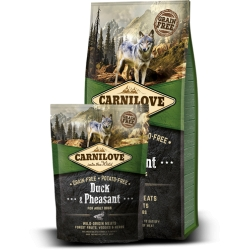 Krmivo Carnilove Dog Duck & Pheasant for Adult NEW