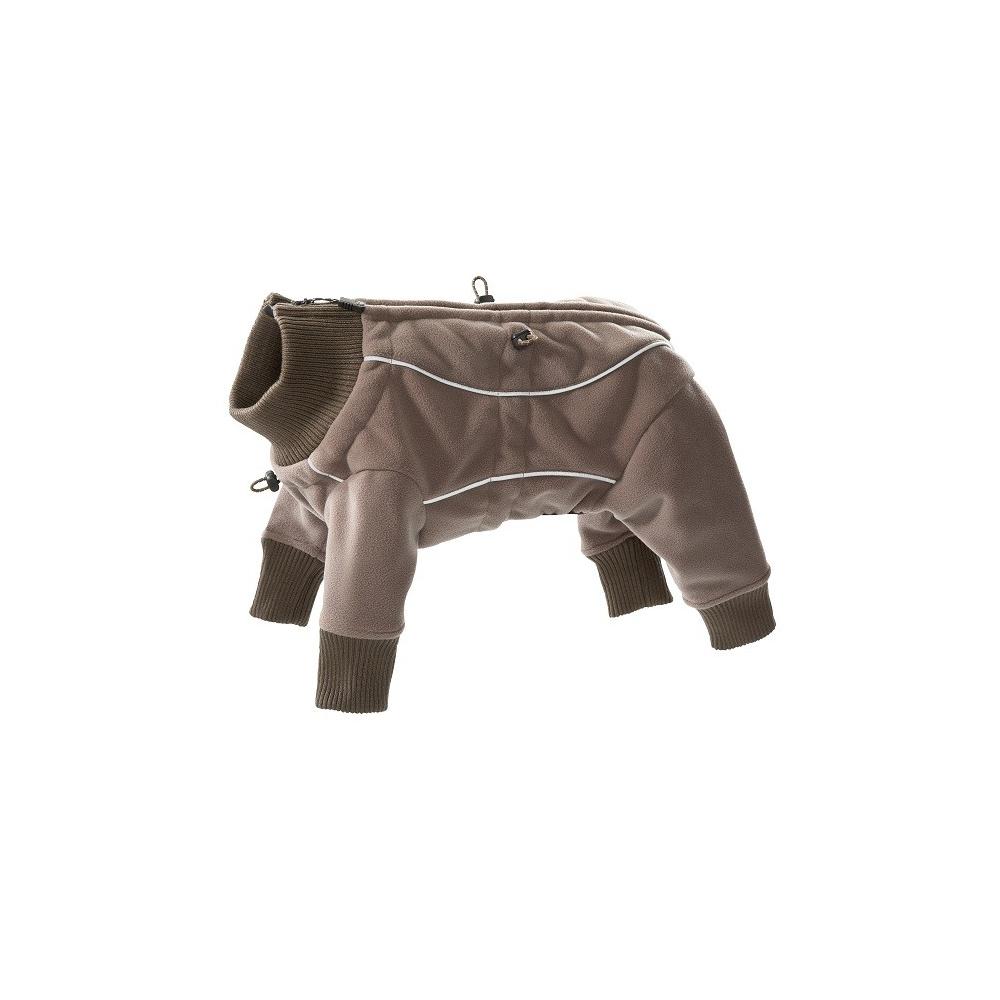 Nepromokavý fleece overall brown
