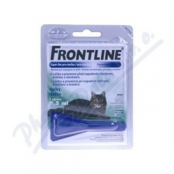 Frontline Spot-On Cat 1x0,5ml Mono pipeta