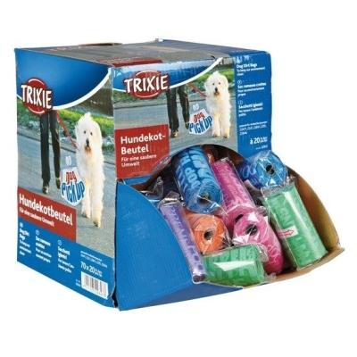 Hygienické WC sáčky na exkrementy Box 70 rolí