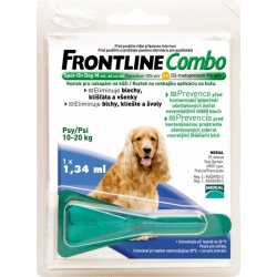 Frontline Combo Spot-On Dog M-10-20 kg