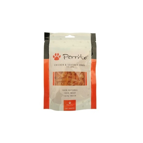Perrito chicken seafood jerky 100g