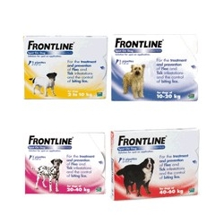 Frontline Spot-On Dog MONO XL- 40-60kg, sol 1x4,02ml - červený