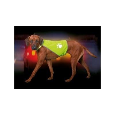Reflexní vesta pro psa Trixie žlutá