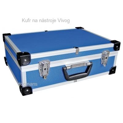 Vivog Grooming kovový kufřík na nástroje modrý