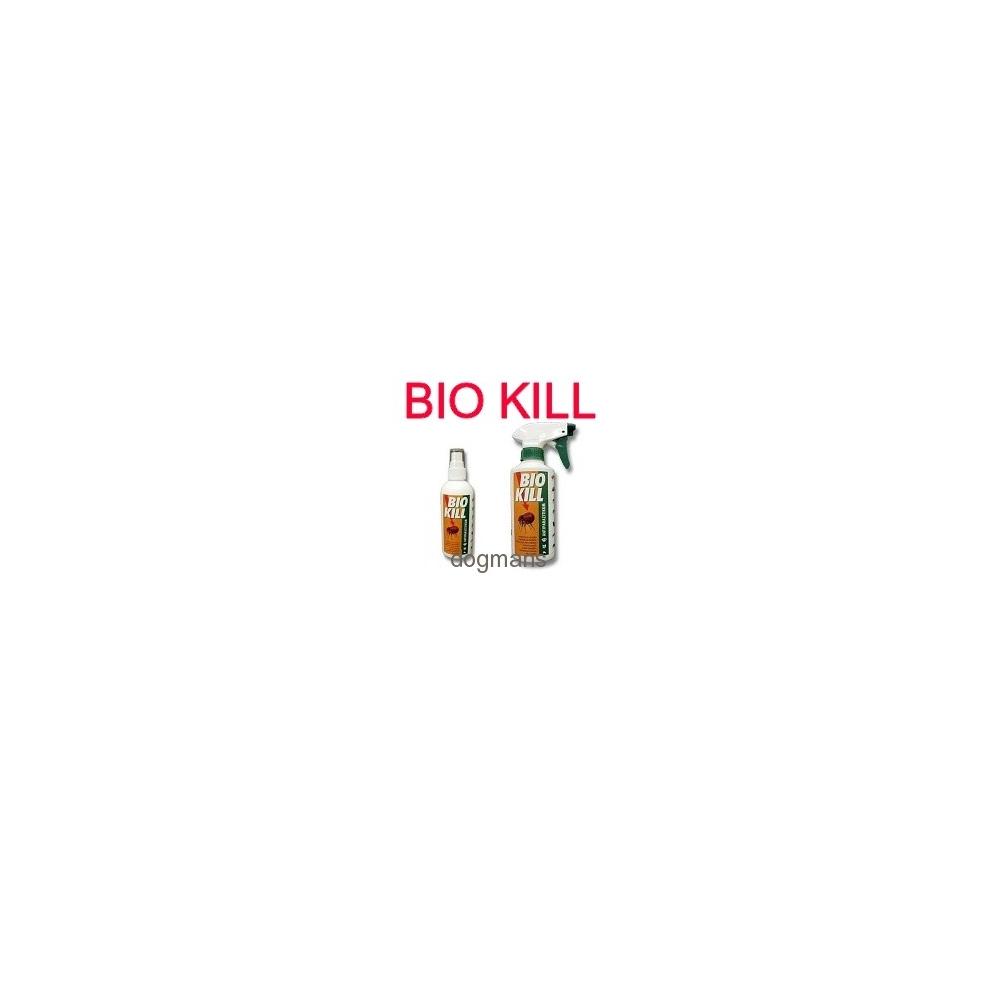 postřik na blechy pro psy Bio kill, antiparazitika proti klíšťatům a blechám Dogmans Liberec