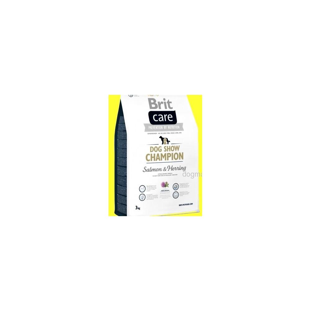 Brit Care Dog Show Champion 3kg Dogmans pro psy Liberec
