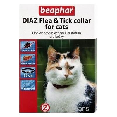 Beaphar Obojek antipar. kočka DIAZ Blecha+Klíště 35cm