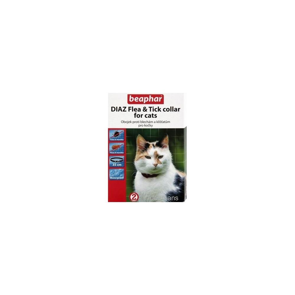 Beaphar Obojek antiparazitní pro kočky DIAZ Flea&Tick 35cm