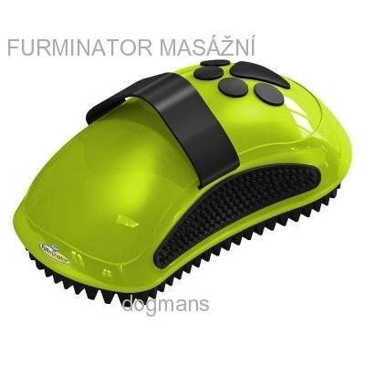 Furminátor kartáč masážní Curry comb Pro