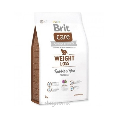 krmení pro psa s nadváhou Brit Care Dog Weight Loss Rabbit & Rice