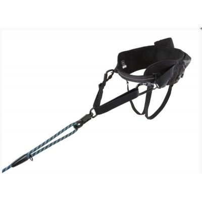Pás Hurtta Hiker Belt 75-120cm černý