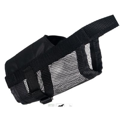 Trixie Náhubek nylonový se síťkou, polyester, černý