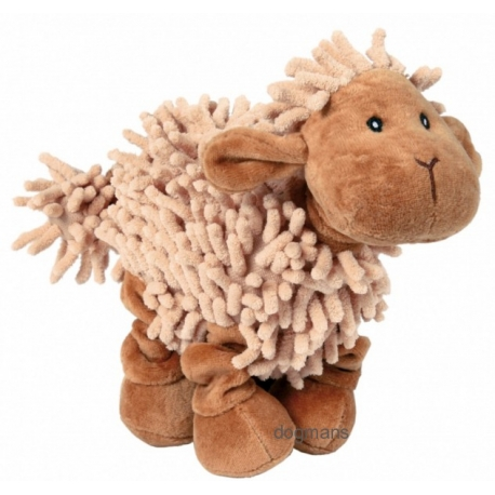 hračka pro psa Plyšová ovečka se zvukem 21 cm