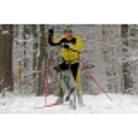 Manmat Ski opasek pro jízdu se psem Simple Race černý