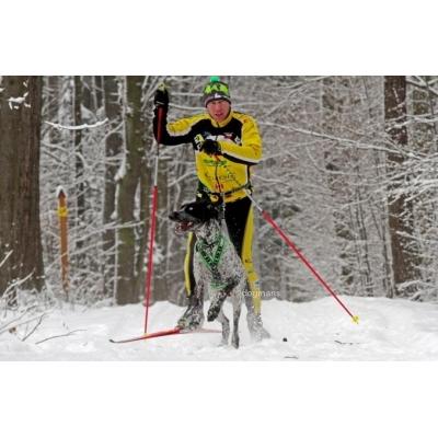 Manmat Ski opasek Simple Race černý