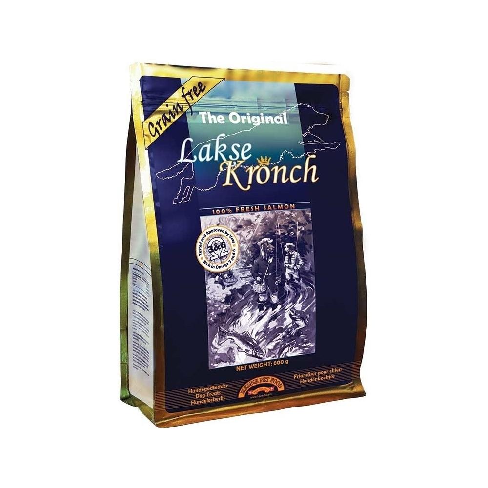 KRONCH pochoutka pamlsek pro psa Treat s lososovým olejem 100%