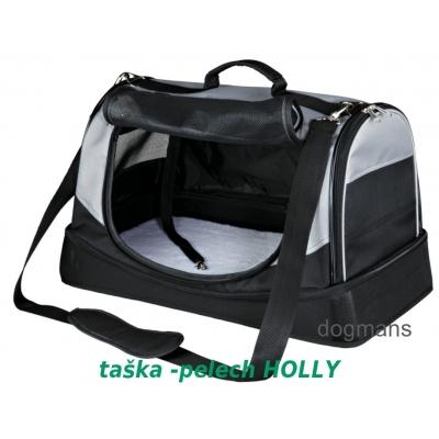 Trixie Holly-Taška-Pelíšek pro psa 50cm, černo/šedá