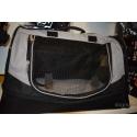 Transportní Taška-Pelíšek Holly50x30x30cm nylon, černo/šedá