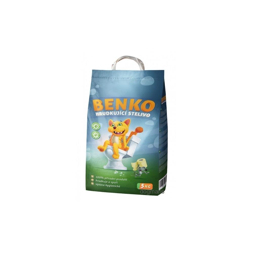 Benko podestýlka pro kočky hrudkující
