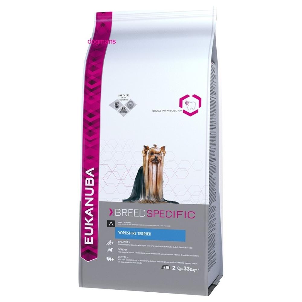 Eukanuba Dog Breed Yorkshire Terier 2kg