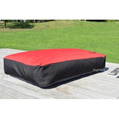 Dogmans Moloss 120 red&black matrace pro psa červeno-černá