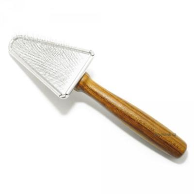 Vivog kartáč jemný trojúhelníkový dřevo