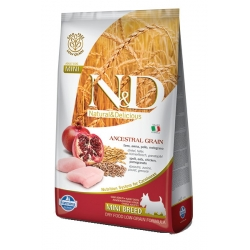 N&D LG DOG Adult Mini Chicken & Pomegranate
