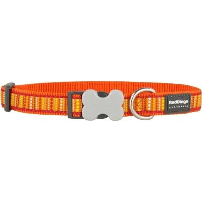 Obojek Red Dingo Obojek RD 20 mm x 30-47 cm - Lotzadotz Orange