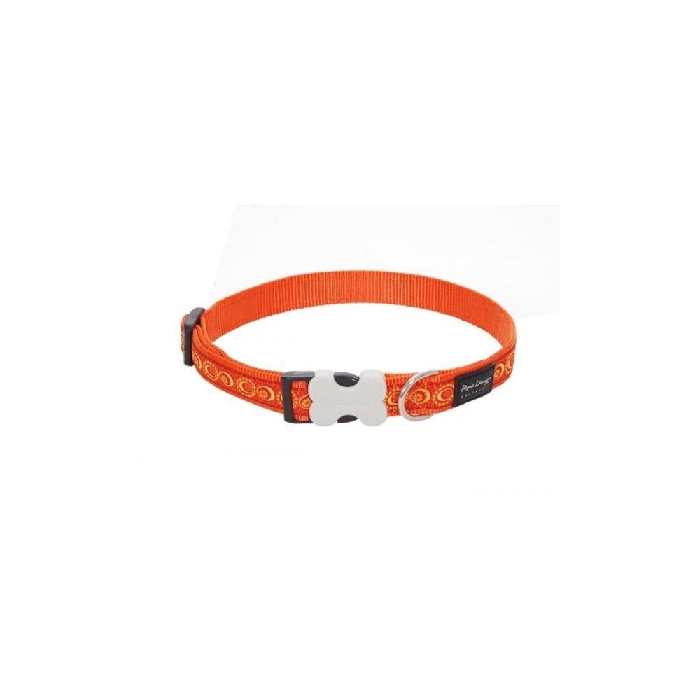 Obojek Red Dingo 20 mm x 30-47 cm - Cosmos Orange
