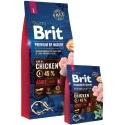 Krmení pro psa Brit Premium Dog by Nature Adult L 15kg
