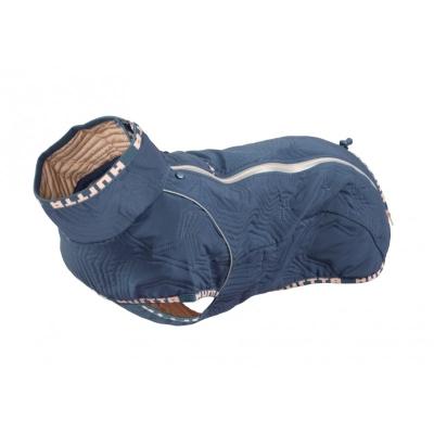 Obleček Hurtta Casual Prošívaná Bunda Modrá XL +obojek ZDARMA