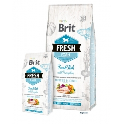 Brit Dog Fresh Fish & Pumpkin Adult Large