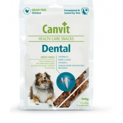 Canvit Snacks Dental 200g pamlsek na zuby