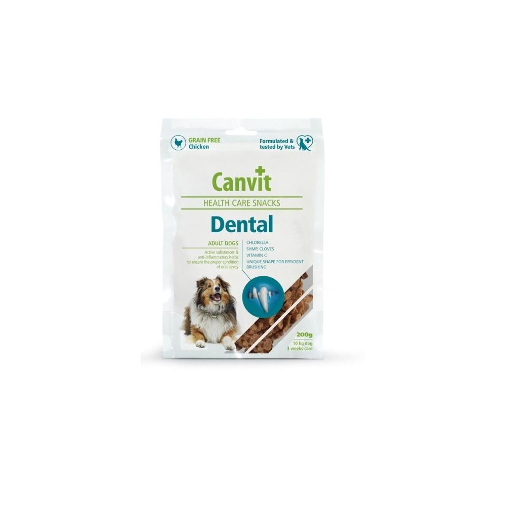 Canvit Snacks Dental 200g pamlsek na zuby