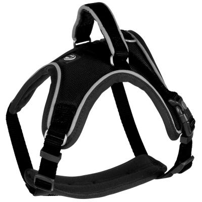 Duvo+ Postroj West nylon černý 1,5x30-40cm