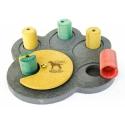 SmartDOG - Hlavolam pro psa-interaktivní hračka Tlapka Rainbow