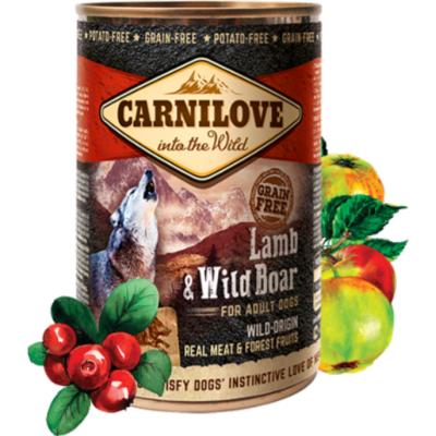 Carnilove Wild konz Meat Lamb & Wild Boar 400g