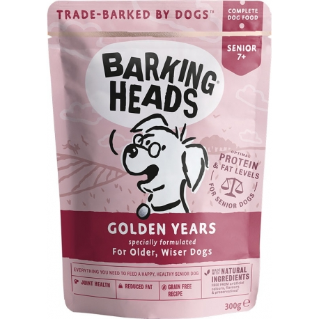 BARKING HEADS Golden Years kapsička NEW 300g