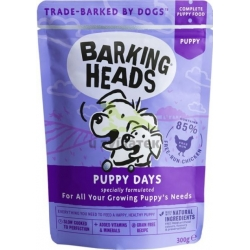 BARKING HEADS Puppy Days kapsička New 300g