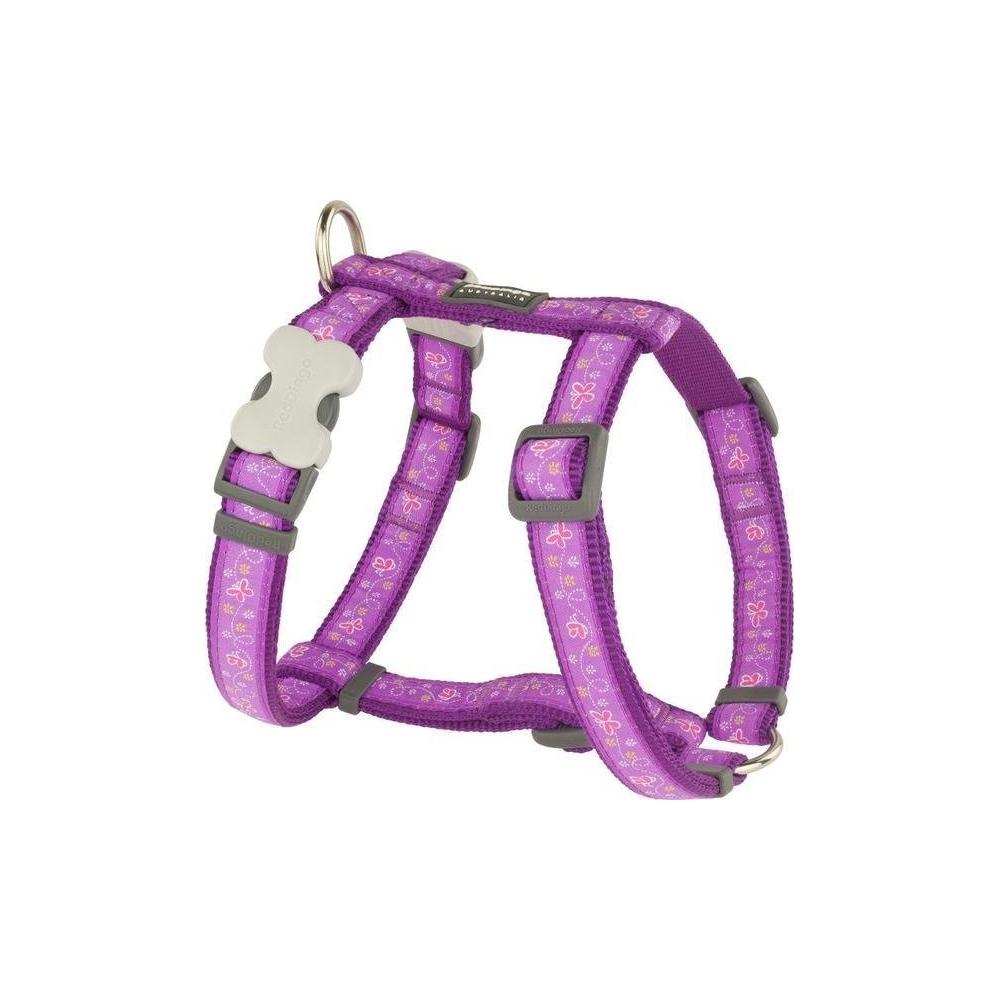 Postroj Red Dingo Butterfly Purple
