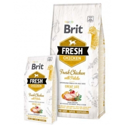 Brit Fresh Dog Chicken & Potato Adult Great Life