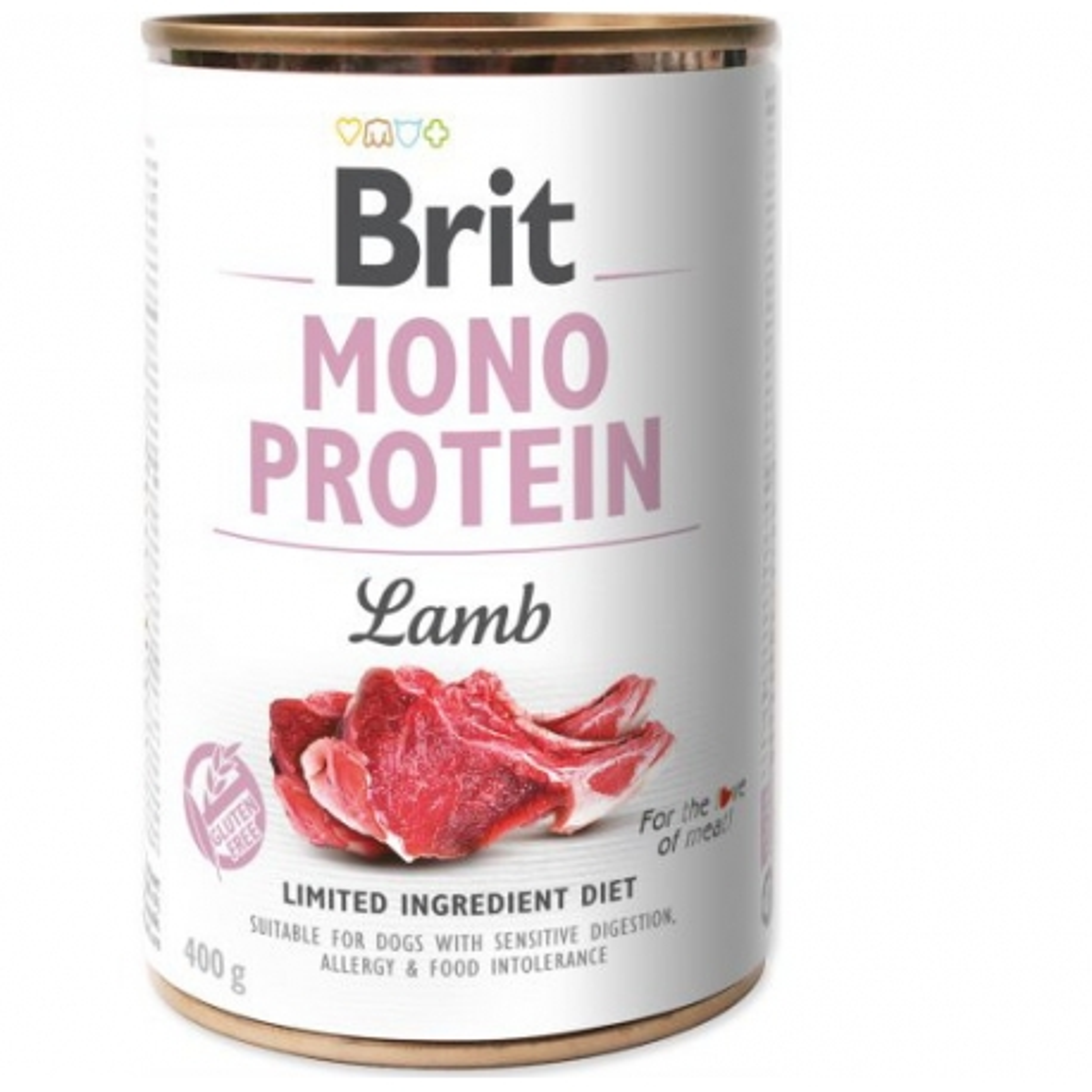 Brit Dog konzERVA PES Mono Protein Lamb 400g