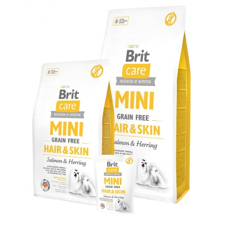Brit Care Dog Mini Grain Free Hair & Skin