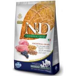 N&D LG DOG Puppy M/L Lamb & Blueberry