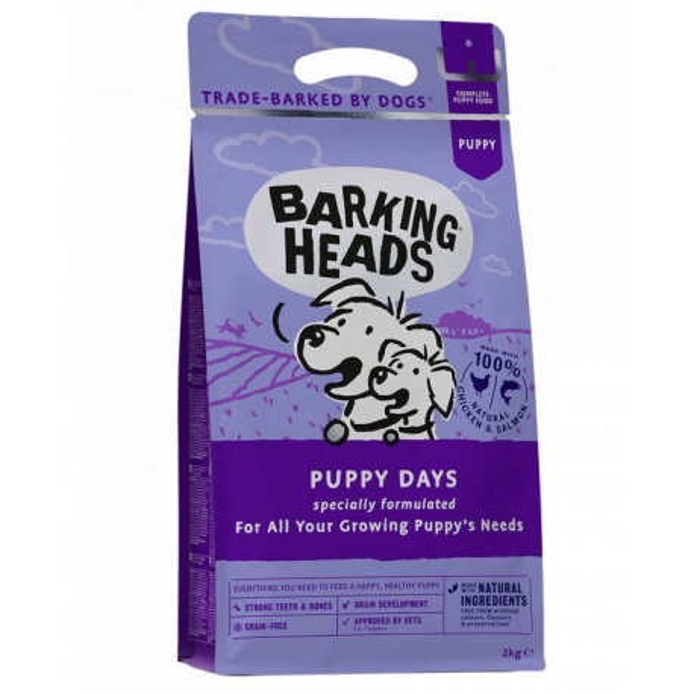 BARKING HEADS Puppy Days NEW