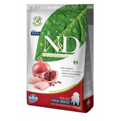 N&D GF DOG Puppy Maxi Chicken & Pomegranate 2,5Kg