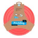 CoLLaR PitchDog - létající DISK pro psy -rosa