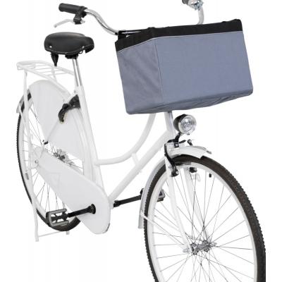 Trixie Front-Box transportní košík na řidítka, 38 x 25 x 25cm, šedá