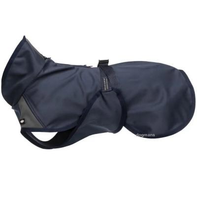 Softshellová bunda ASTON tmavomodrá/šedá